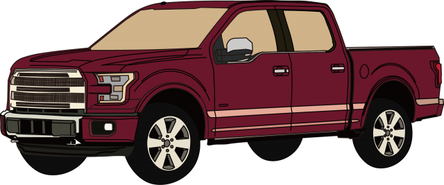 Ford F 150 Pick Up Truck Used For Business