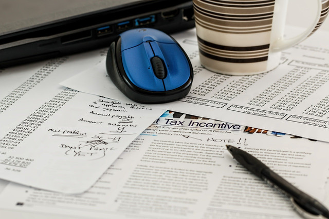 Tax filing and tax schedules